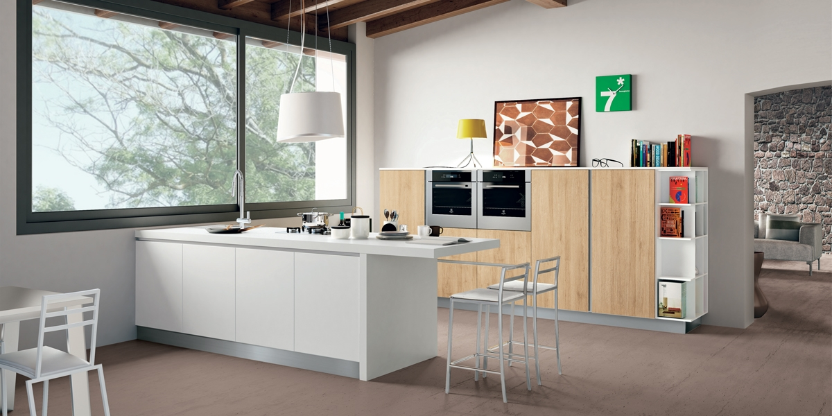 Cucina Ank rovere naturale - Mobil House
