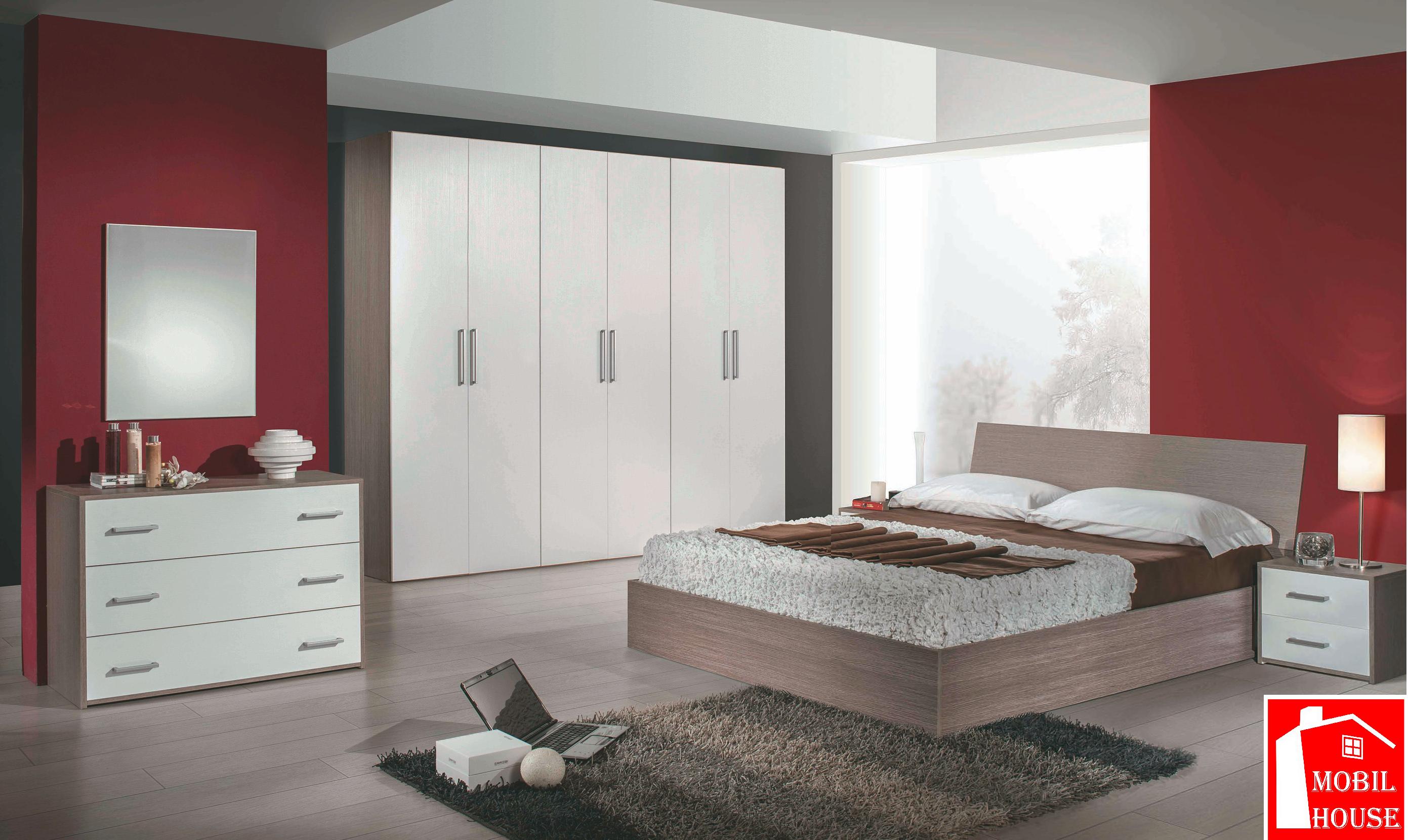 Camera da letto Rosy contenitore - MobilHouse Arredamenti