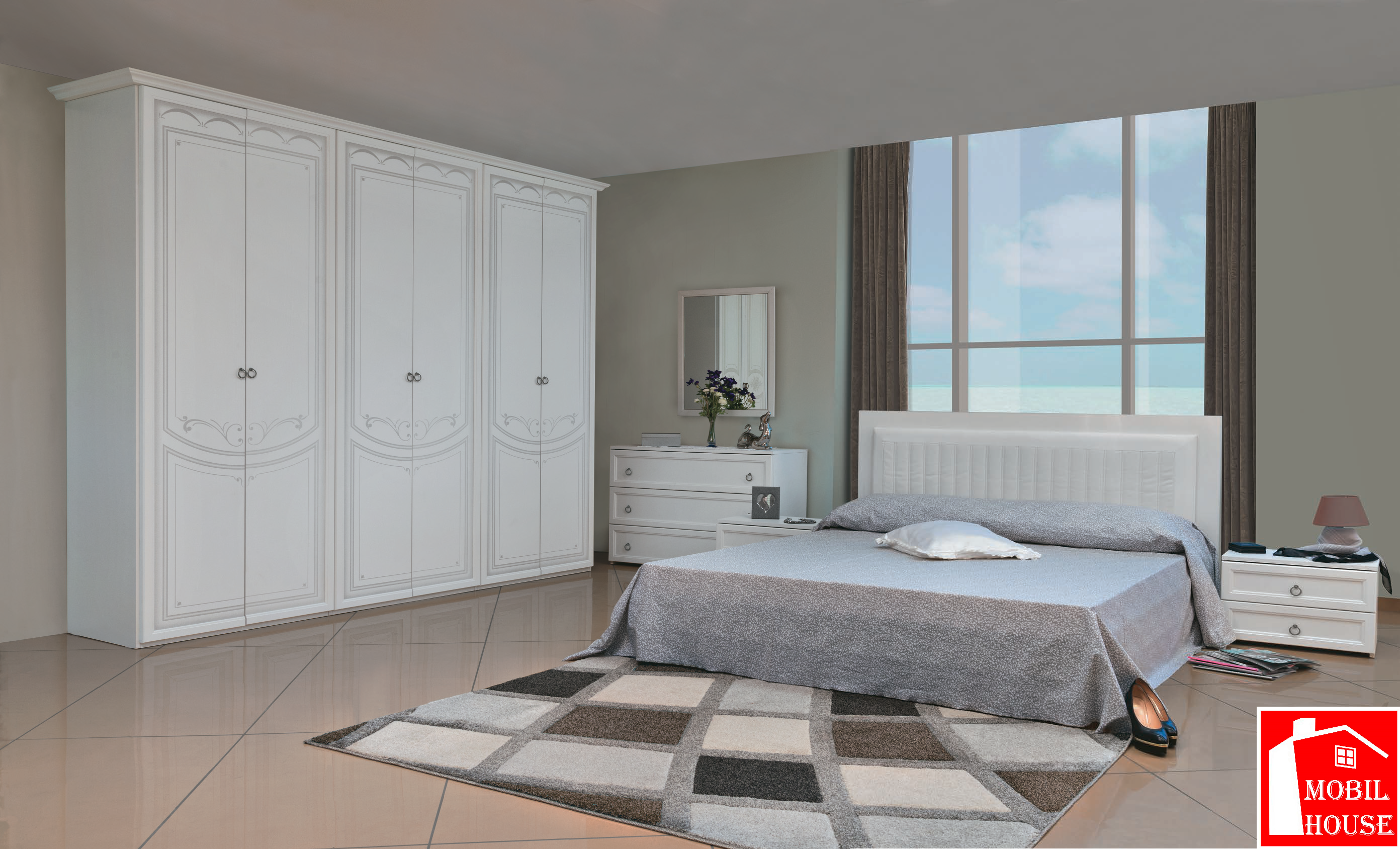 Camera da letto SAMANTHA - Mobil House
