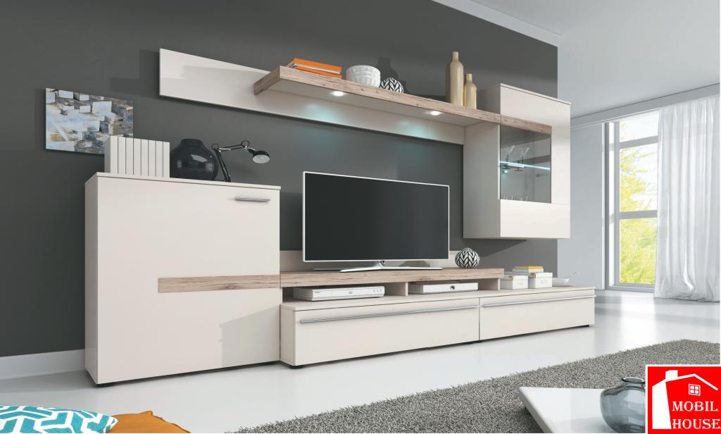 pareti attrezzate moderne archivi - mobil house - Parete Soggiorno Attrezzata Offerte 2
