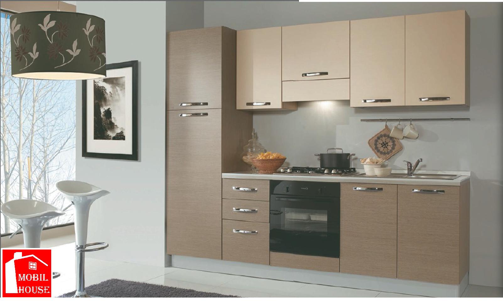 cucina moderna 2 55 mt mobilhouse arredamenti